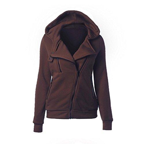 [FAPIZI ♥ Women Coat ♥ Fashion Women Hoodie Sweatshirt Casual Hooded Warm Sweatshirt Casual (XL,] (Zipper Costume Face)