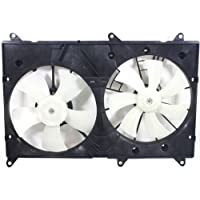 MAPM Premium HIGHLANDER 04-07 RADIATOR FAN SHROUD ASSEMBLY, Dual, w/o Towing Pkg., 4Cyl