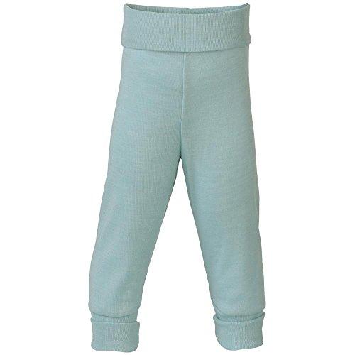Engel 70% Organic Wool 30% Silk Baby Pants (86/92 (12-24 mo), Glacier)