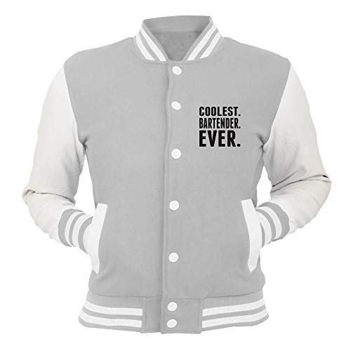 Coolest College Beer0199 Grigio T Ever Giacca Bartender shirtshock Xq6HFwgxnU