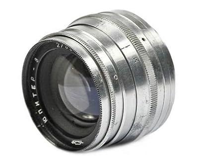 Amazon com : Jupiter 8 2 0/50mm M39 FED Zorki Leica RF Silver