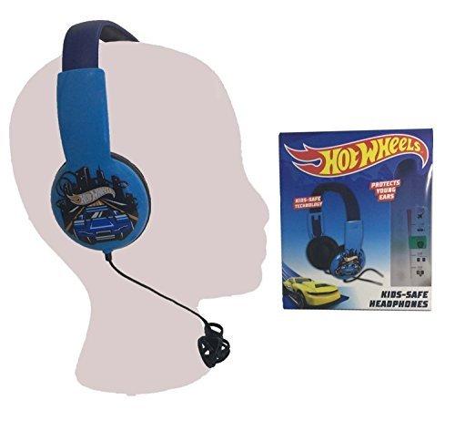 Kid safe Headphones over the ear Hotwheels design volume limiting technology