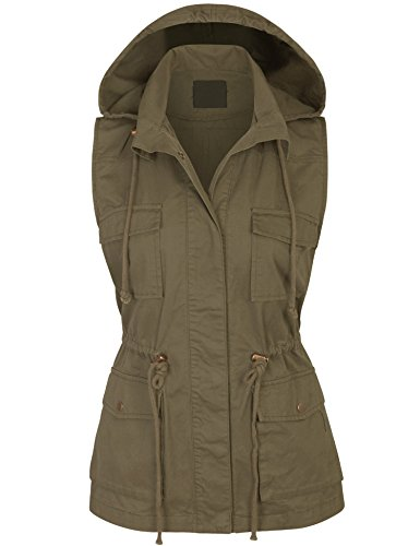 KOGMO Womens Military Anorak