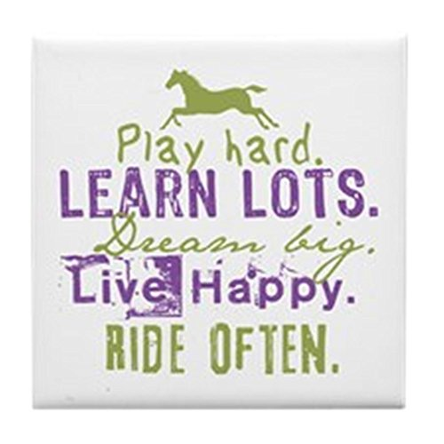 CafePress - Horse Lover - Tile Coaster, Drink Coaster, Small Trivet