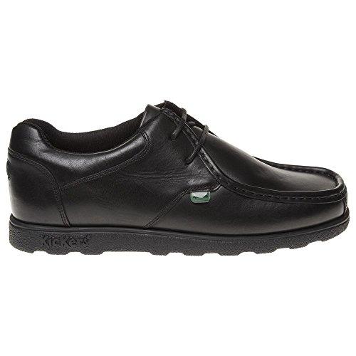 Kickers  Fragma Lace 13 MF AM,  Herren Schuhe , Schwarz - schwarz - Größe: 44 (10.5 UK)
