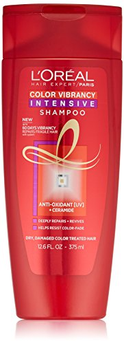 Intensive Hair Care (L'Oreal Paris Hair Care Expert Color Vibrancy Intensive Shampoo, 12.6 Fluid)