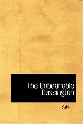 Download The Unbearable Bassington ebook