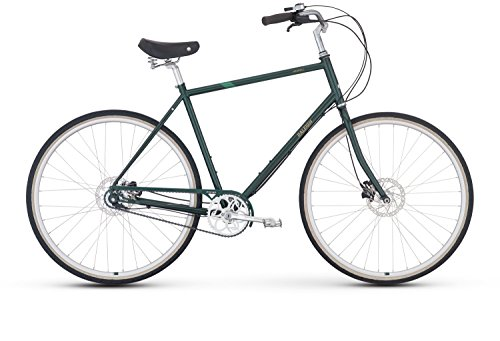 Raleigh Bikes Haskell City Bike, Green, 52 cm/Medium