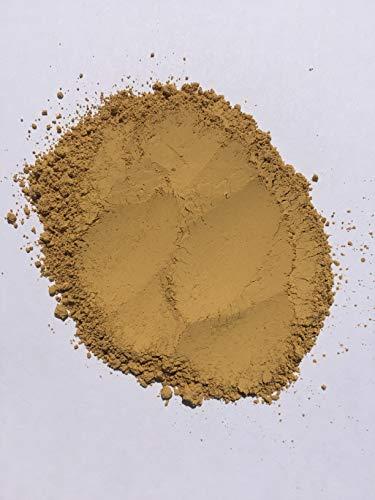 Grapewood colors Yellow ochre pale (1 Lb) pigment/dye for concrete,ceramic,house paint,wall paint,render,pointing,cement,mortar,bricks,tiles ()