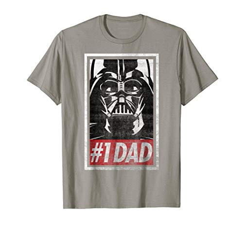 Star Wars Darth Vader #1 Dad Propaganda Graphic T-Shirt C1 (Darth Vader Best Dad Shirt)