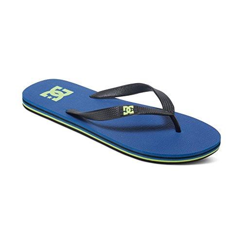 DC Spray Sandal, Blue/Blue/Yellow, 11 M US
