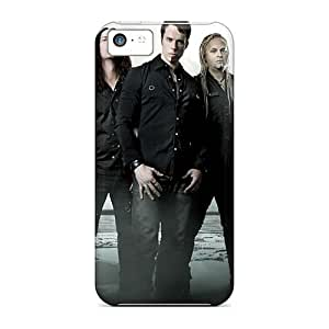 Marycase88 Iphone 5c Bumper Cell-phone Hard Cover Provide Private Custom Nice Kamelot Band Image [diG13356tHrf]