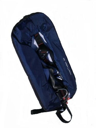 Vollautomatische Rettungsweste Schwimmweste in blau 300 N mit Lifebelt