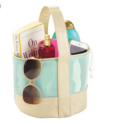 Interi Design Bath tote bag Shower tote- college dorms, beach, pool, spa bag by Interi Design
