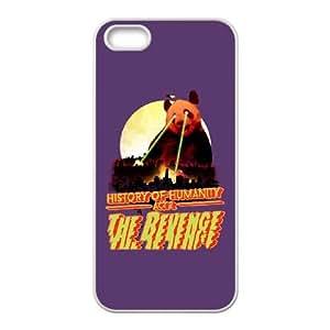 iPhone 5 5s Cell Phone Case White Act 2 The revenge WGQ Custom Plastic Phone Case