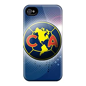 Scratch Protection Hard Phone Case For Iphone 6plus (sTY19748yHeJ) Customized Attractive Club America Skin