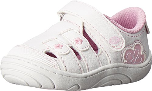 Stride Rite Girl's Tulsi (Little Kid/Big Kid) White Synthetic Shoe (Little Girl Walking)