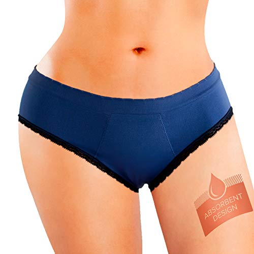 Anigan EvaWear Hipster, THINX Alternative, Tampon Replacement, Premium Quality, Absorbent Menstrual Period Panty