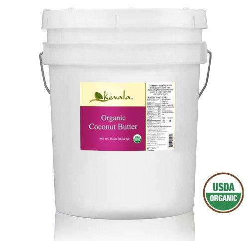 Kevala Organic Coconut Butter, 36 Pound