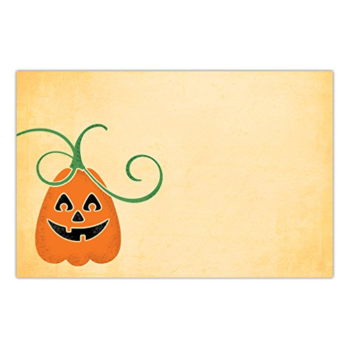 25 Count Halloween Paper Placemats Playful Autumn Pumpkin Adult Teen Children Kids Costume Parties Brunch Lunch Disposable Easy Cleanup 17