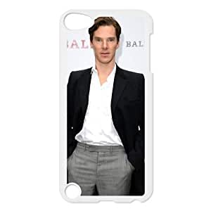 iPod Touch 5 Phone Case White Benedict Cumberbatch CML5587005