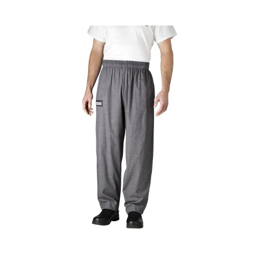 Chefwear 3500-32 MED Charcoal Ultimate Chef Pants