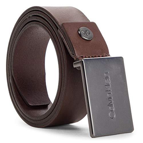 115 3 plaque Marrone Calvin taglia Produttore turkish Coffee 5cm 201 Adj 9 Cintura Uomo Klein Belt qwHC5ZH