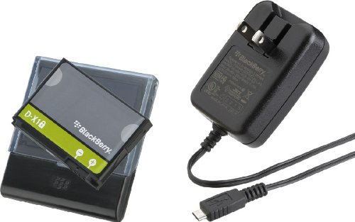 (BlackBerry Battery Charging Bundle for 9630, 9530,9500, 8900, 9520, and 9550)