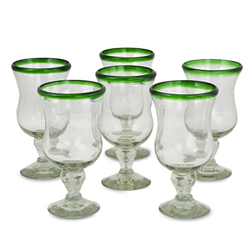 Clear Green Recycled Glass - 5