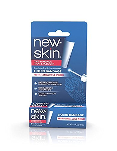 New-Skin Liquid Bandage - 0.3 oz, Pack of 5 by New-Skin