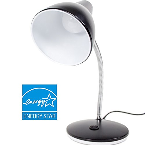 Newhouse Lighting NHESS-BK 8W Energy Saving LED Desk Lamp, Black