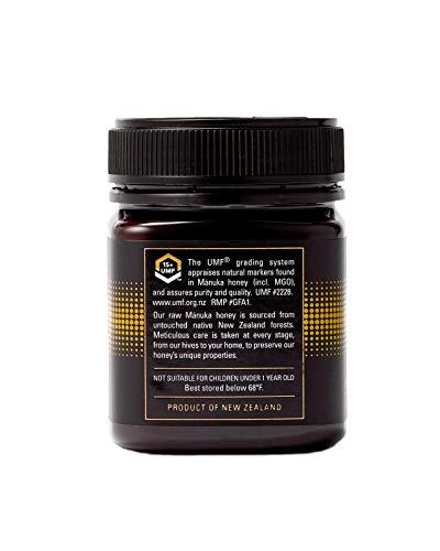 Manukora UMF 15+/MGO 500+ Raw Mānuka Honey (250g/8.8oz) Authentic Non-GMO New Zealand Honey, UMF & MGO Certified, Traceable from Hive to Hand by Manukora (Image #2)