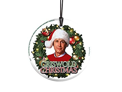 trend setters national lampoons christmas vacation griswold christmas starfire prints hanging glass - Griswold Christmas