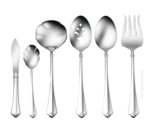(Oneida Juilliard 6-Piece Serving Set)