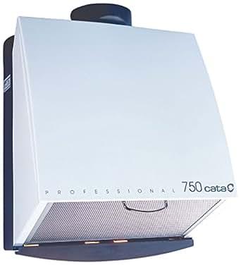 Cata Professional 750 Extractor centrífugo de cocina 105 W, 230 V, Blanco y gris