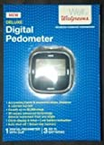 Walgreens New Clip-on Deluxe Digital Pedometer by Wallgreens