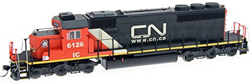 Used, EMD SD40-2 w/DCC -- Canadian National (black, red, for sale  Delivered anywhere in USA
