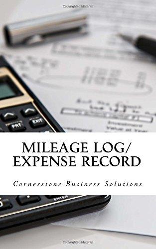 Amazon com: Mileage Log/Expense Record: The #1 Expense