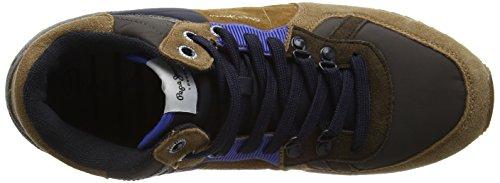 Pepe Jeans Tinker Mix High Top - Zapatillas de deporte Hombre Marrón - Marron(859Tobacco)