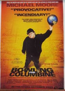 Image result for bowling for columbine movie poster