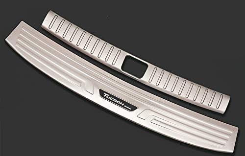 Protezione per paraurti cromo spazzolato in acciaio inox