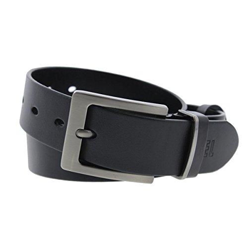 Belt for Men Leather Belt (Belt width:1.4 inches)[Trimmed to fit]HZ2067
