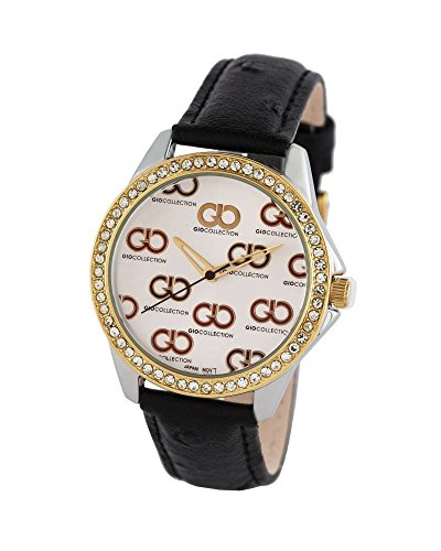 Gio Collection Analog White Dial Women #39;s Watch   G0070 01