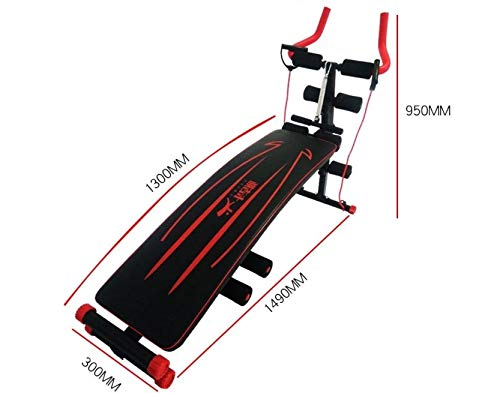 GaoMiTA Multifunctional Beauty Machine, Supine Board, Home Fitness Equipment, Male Belly Reduction, Female Waist, Two-in-one, Lazy Roller Coaster by GaoMiTA (Image #1)