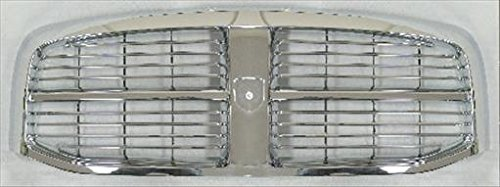 OE Replacement Dodge Pickup Grille Assembly (Partslink Number CH1200281) Dodge Pickup Grille