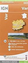 D83 VAR  1/200.000 par Institut géographique national