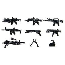 Custom Modern Combat Weapons Pack (P16) Designed for Brick Minifigures