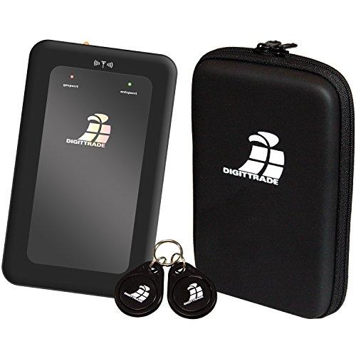 Digittrade externe Festplatte 1TB schwarz USB 2.0 RS64 RFID Security HDD SATA (6,4 cm (2,5 Zoll), 5400rpm, 8MB Cache) mit Hardware-Verschlüsselung