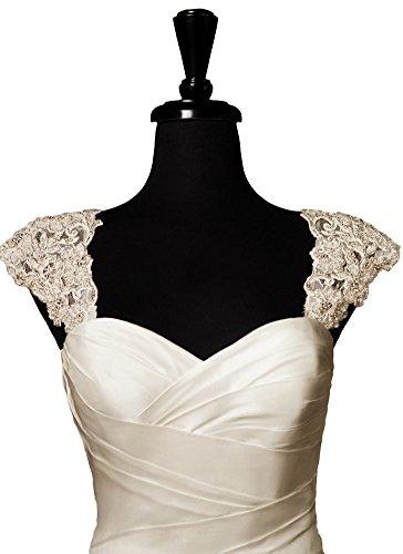 Bridal_Mall - Chaqueta - para mujer Beige