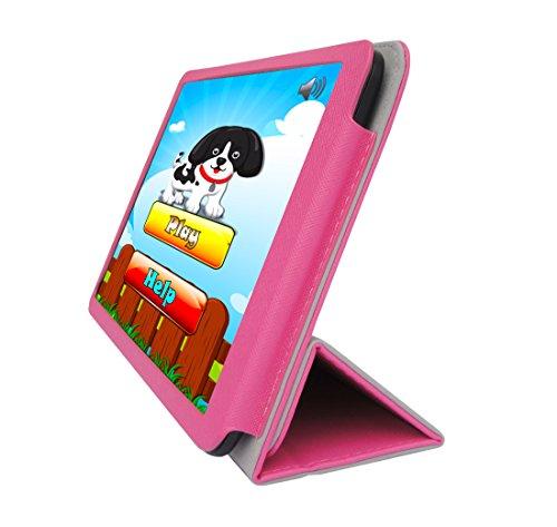 "UPC 847564037567, iShoppingdeals - for DigiLand 10.1"" Tablet (Model DL1010Q Only) Folding Folio Cover Case, Tulip Pink"